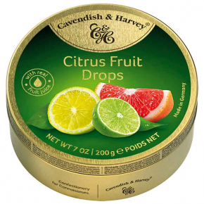 Cavendish & Harvey Citrus Fruit Drops 200g