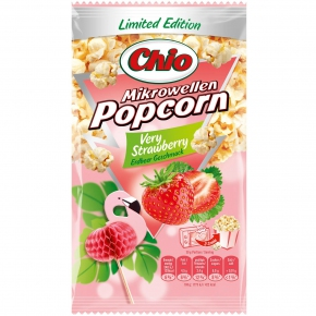 Chio Mikrowellen Popcorn Very Strawberry 100g