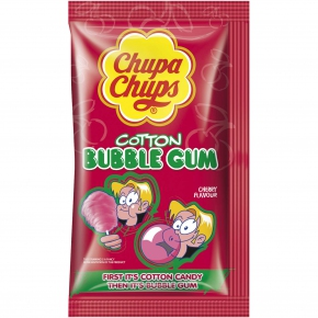 Chupa Chups Cotton Bubble Gum Cherry
