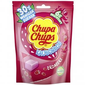 Chupa Chups Kaubonbon Erdbeere