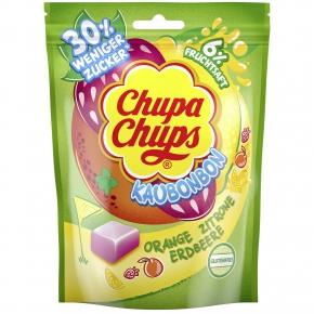 Chupa Chups Kaubonbon Orange Zitrone Erdbeere