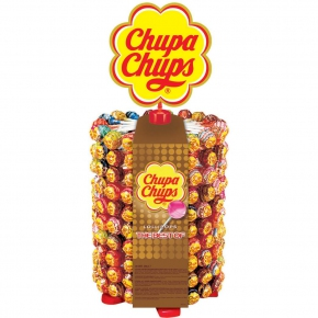 "Chupa Chups Lollipops ""The Best Of"" 200er Theken-Display"