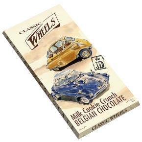 Classic Wheels Belgian Chocolate  Milk Cookie Crunch