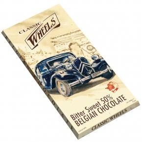 Classic Wheels Belgian Chocolate Bitter Sweet 50%