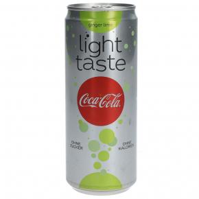 Coca Cola light taste Ginger Lime 330ml