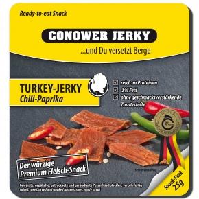 Conower Jerky Turkey-Jerky Chili-Paprika 25g
