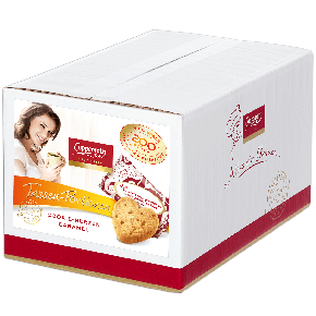 Coppenrath Tassen-Portionen Cookie-Herzen Caramel 200er