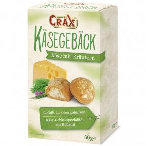 Cräx Käsegebäck Käse mit Kräutern 60g