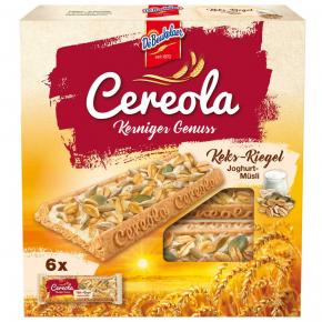 DeBeukelaer Cereola Kerniger Genuss Keks-Riegel Joghurt-Müsli 6er