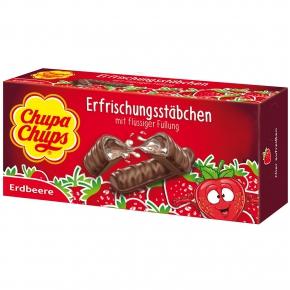 DeBeukelaer Erfrischungsstäbchen Chupa Chups Erdbeere 75g