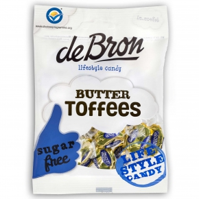 deBron lifestyle candy Butter Toffees zuckerfrei