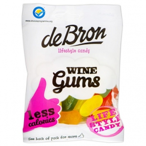 deBron lifestyle candy Wine Gums