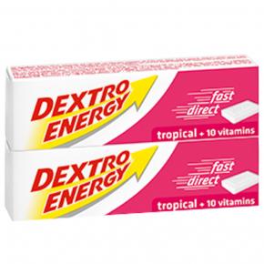 Dextro Energy Tropical + Vitamin C 2x47g