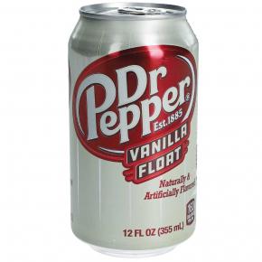 Dr Pepper Vanilla Float USA 355ml