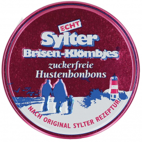 Echt Sylter Brisen-Klömbjes Hustenbonbons zuckerfrei