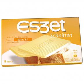eszet Schnitten Weisse Schokolade 8er