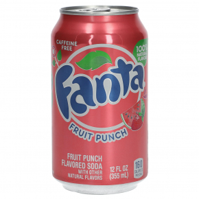 Fanta Fruit Punch USA 355ml