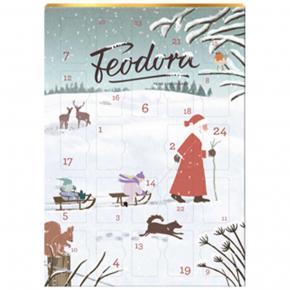Feodora Adventskalender Weihnachtsmann