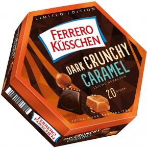 Ferrero Küsschen Dark Crunchy Caramel 20er