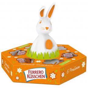 Ferrero Küsschen Keramik-Hase 53g