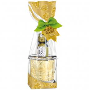 Ferrero Rocher Windlicht 50g [Mindesthaltbarkeitsdatum 03.03.2019]