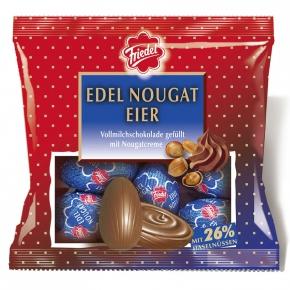 Friedel Edel Nougat Eier 100g