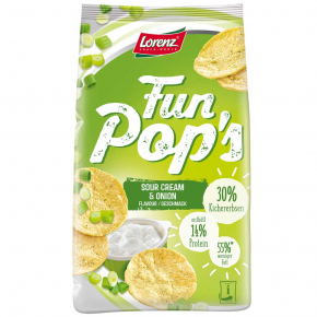 FunPop's Sour Cream & Onion 85g