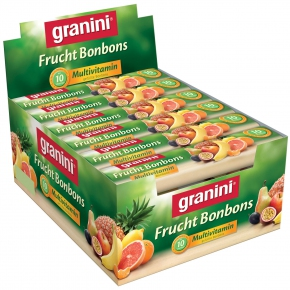 Granini Frucht-Bonbons Multivitamin 24x10er