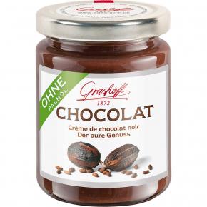 Grashoff Chocolat Crème de chocolat noir 250g