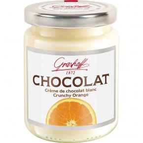 Grashoff Weiße Chocolat Crunchy Orange 250g
