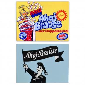 "World of Sweets. Магнитик Ahoj-Brause Magneten ""Nostalgic Art"" в подарок при покупке продуктов марки Ahoj-Brause"
