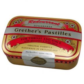 Grether's Pastilles Redcurrant zuckerfrei