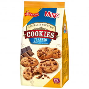 Griesson Chocolate Mountain Cookies Classic Minis 125g