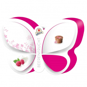 Halloren Beerenfrucht Schmetterling 109g