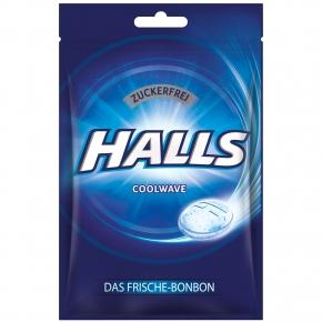 Halls Coolwave zuckerfrei