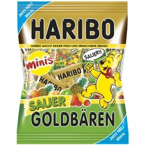 Haribo Goldbären Minis Sauer 250g