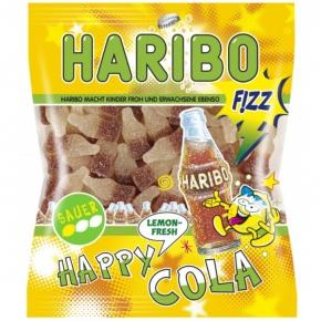 Haribo FIZZ Happy Cola Lemon-Fresh sauer 200g