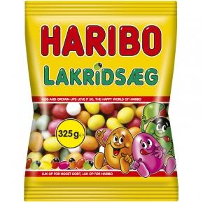 Haribo Lakrids Aeg 325g