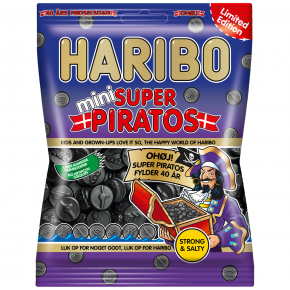 Haribo Mini Super Piratos 360g