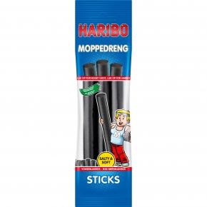 Haribo Moppedreng Sticks 123g
