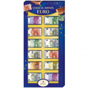 Heidel Choco-Minis Euro 12er Geschenkverpackung