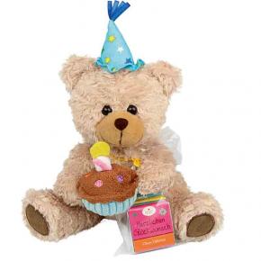 Heidel Geburtstagsbär mit Schokolade 20g