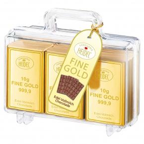 Heidel Gold Koffer