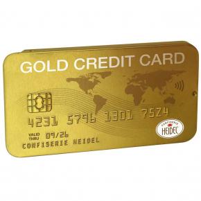 Heidel Gold Kreditkarte 30g