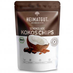 Heimatgut Kokos Chips Schokolade 40g