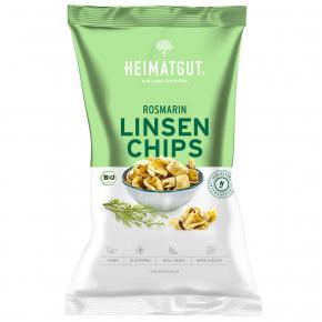 Heimatgut Linsen Chips Rosmarin 75g