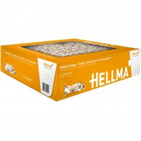 Hellma Kokos-Krispy Weiße Schokolade 380er