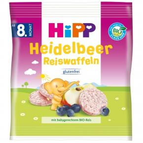 Hipp Heidelbeer Reiswaffeln 30g