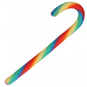 I love Likz Zuckerstange 17cm Regenbogen