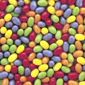 Jelly Belly 5-Flavor Sours Mix 1kg